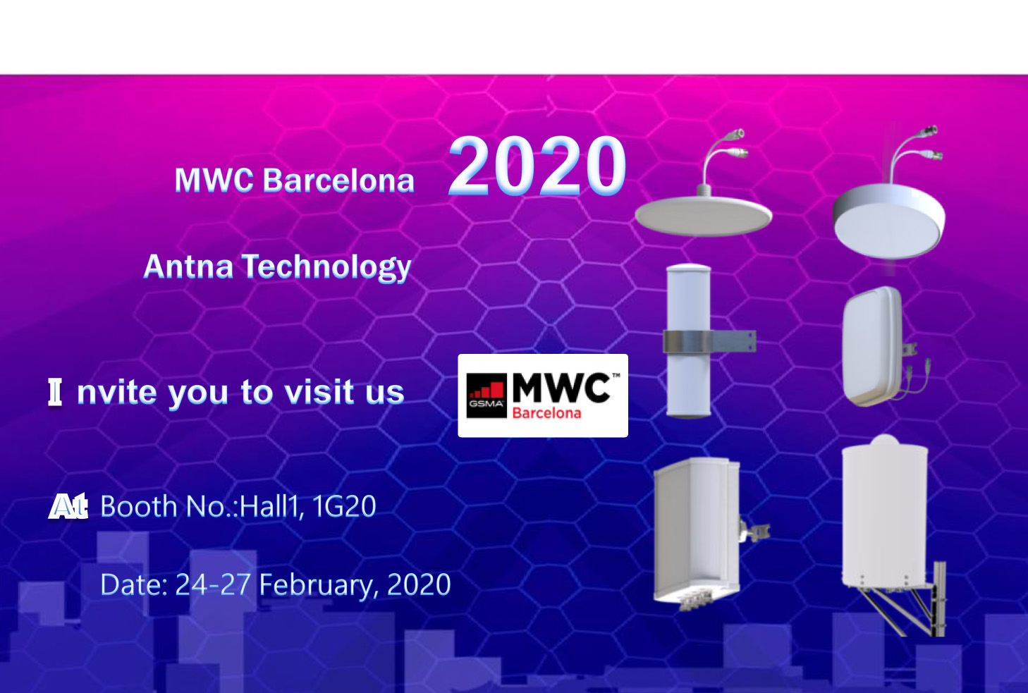 Meet us in MWC2020