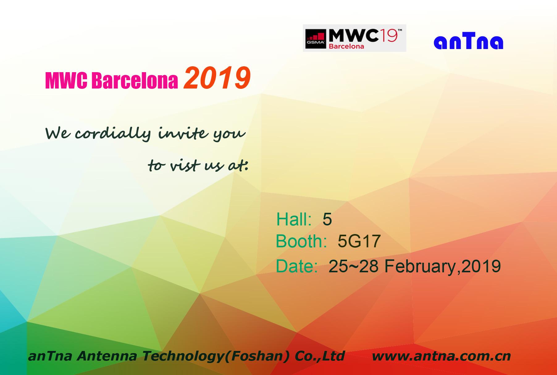 Meet us in MWC Barcelona 2019